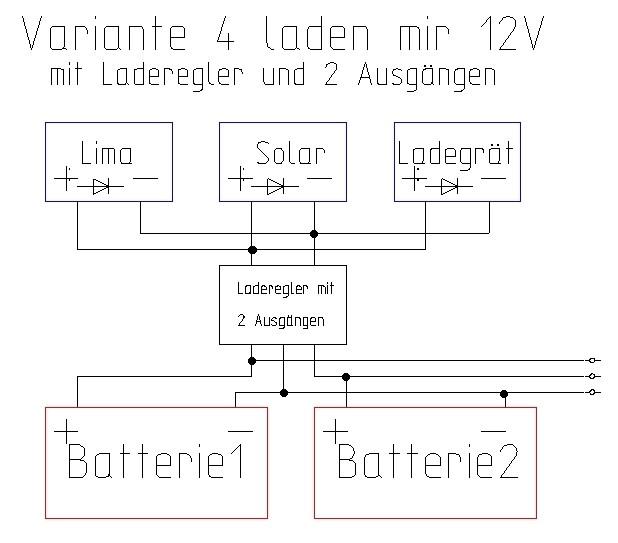 2 Ladegeräte an eine Batterie - Neptun - Forum